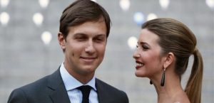 Ivanka Trump arrives with husband  Jared Kushner  at the Vanity Fair party to begin the 2012 Tribeca Film Festival in New York  April 17  2012   REUTERS Lucas Jackson File Photo