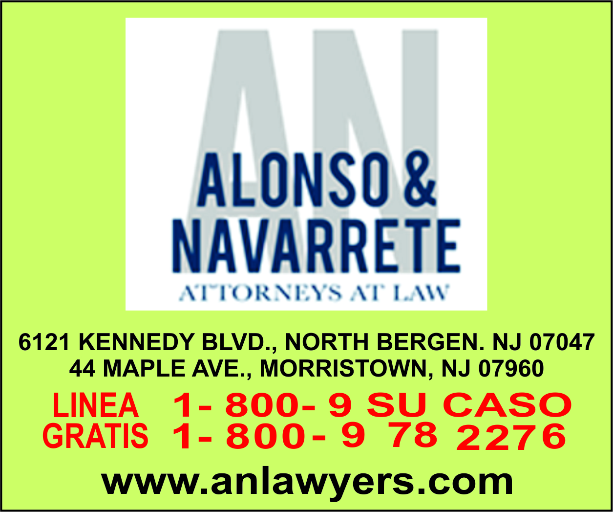Alonso y Navarrete
