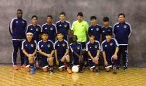 Escuadra  U-14, de Union City Soccer.