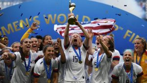 La selección de Estados Unidos, campeona del Mundial femenino