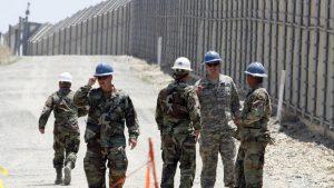 Trump agradeció a México por el despliegue de soldados en la frontera