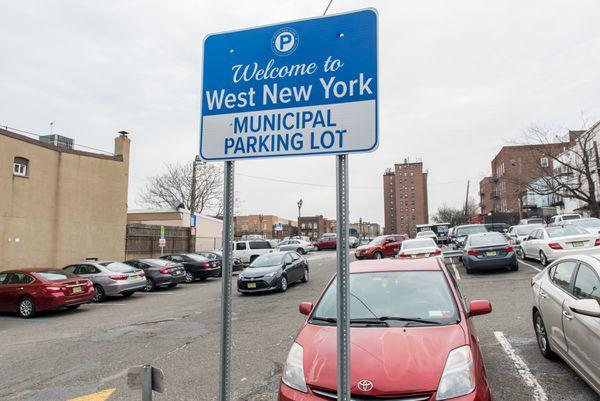 West New York terminó con el Departamento de Parking