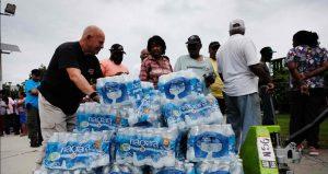 El agua potable de Newark, Nueva Jersey sigue contaminada con plomo.