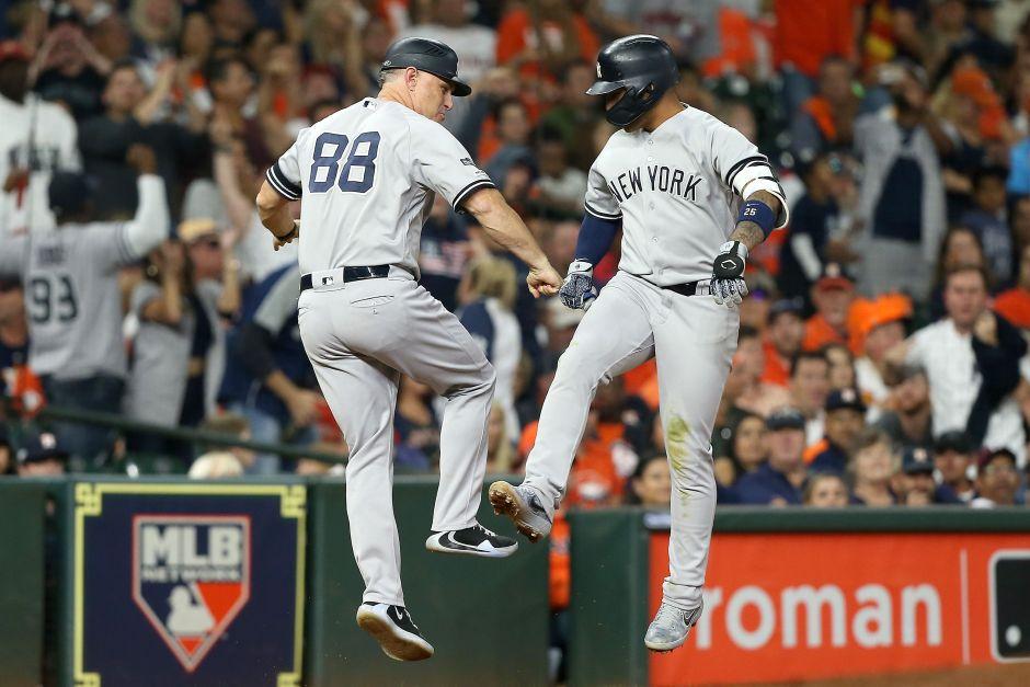 ¡Enormes! Los Yankees blanquean a los Astros y pegan primero en la Americana