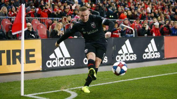 Wayne Rooney se despide de MLS; DC United, de playoffs