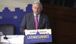 Senador Menéndez participó en cumbre latina del senado
