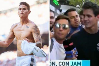 """""""Te lo dije, Zidane"""", """"James, titular"""", y más halagos de hinchas del Madrid al colombiano"""