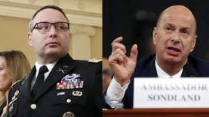 La arremetida de Trump: despide a dos testigos que testificaron en la investigación del 'impeachment'