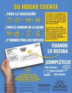 No olvide inscribirse en el Censo 2020