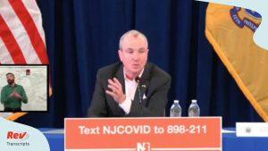 Gobernador de Nueva Jersey ordena a todos quedarse en casa