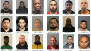 La Oficina del Sheriff del Condado de Hudson arresta a 59 personas, incluyendo una por contacto sexual criminal