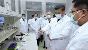 China ganó la batalla al coronavirus, Xi Jinping visita Wuhan