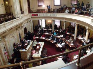 Actividad del legislativo en el estado de Nueva Jersey