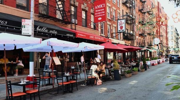 Continuan restaurantes al aire libre en Nueva Jersey