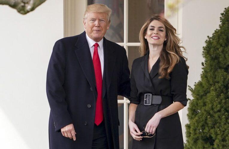 ¿Quién es Hope Hicks, la asesora de Trump que se contagió de covid-19?