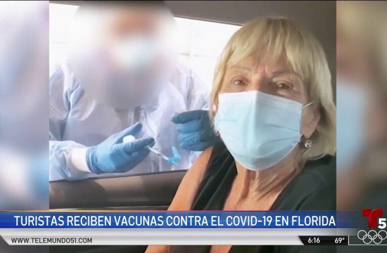 El 'turismo de vacunas' en Florida provoca indignación