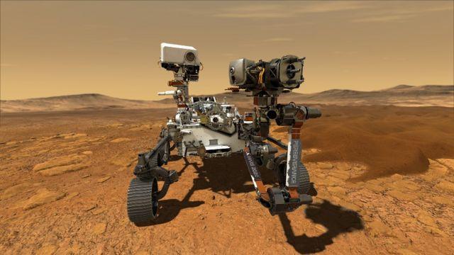 'Perseverance' meses de viaje, y logro llegar a Marte