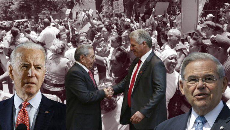 Biden comprometido con libertad de Cuba según Bob Menéndez